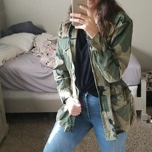 Forever 21 Size (S)mall Camouflage Jacket